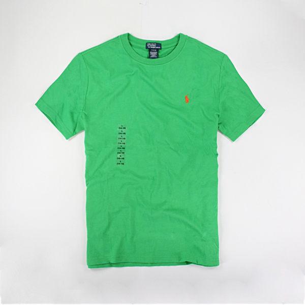 美國百分百【全新真品】Ralph Lauren RL Polo 圓領 短袖 T恤 T-shirt Tee 亮綠 XS S號 夏季特價品 y