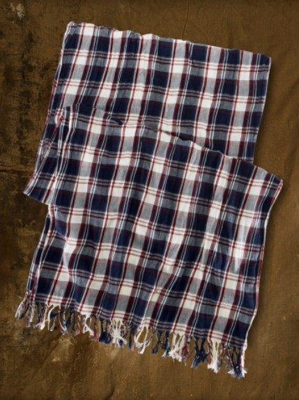 美國百分百【全新真品】Denim Supply Ralph Lauren Polo 春夏 蘇格蘭格紋 圍巾 絲巾 薄款 男女