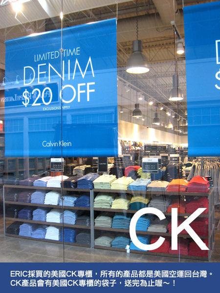 美國百分百【全新真品】Calvin Klein 專櫃款 男生 CK 純棉 素色 網眼 短袖 POLO衫 超商取貨