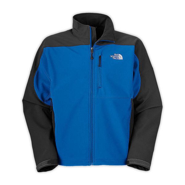 美國百分百【全新真品】The North Face 經典 防風 防水 男外套 夾克 藍黑色 L XL號 板橋門市