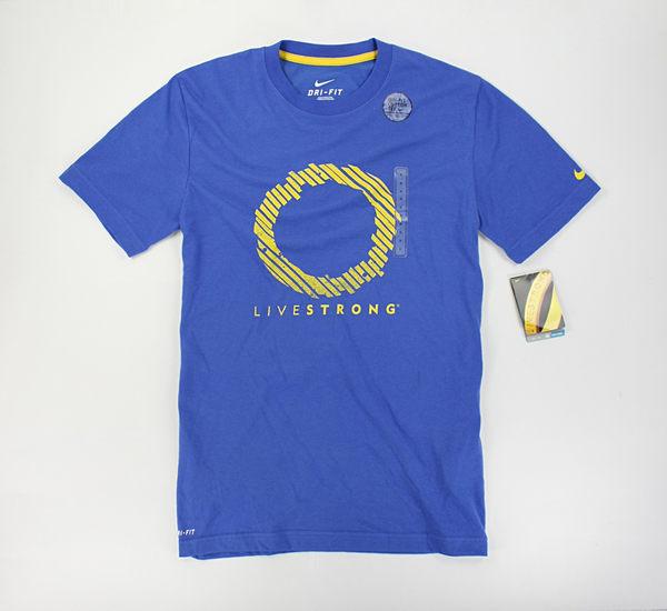 美國百分百【全新真品】NIKE DRI-FIT 排汗透氣 運動打球 男生 短袖 T恤 T-shirt Tees 寶藍 S號