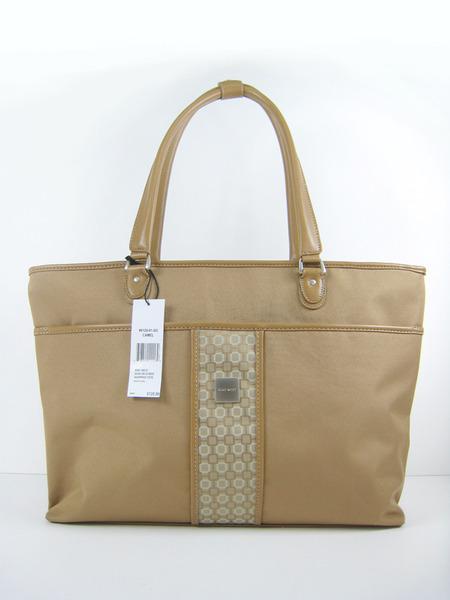 美國百分百【全新真品】Nine West 女用 手提包 肩背包 公事包 大容量 米色 美國寄件