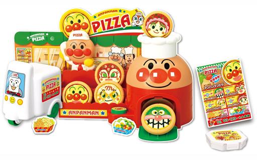 日本直送 Anpanman 麵包超人 兒童玩具 小小烘培披薩店