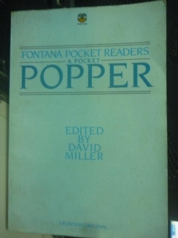 【書寶二手書T3/原文書_HSO】APocket Popper_Sir Karl Popper