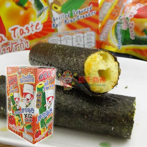 【0216零食會社】Kabuki健康海苔玉米棒-原味/辣味