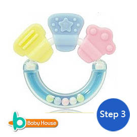 [ Baby House ] 韓國進口手搖鈴玩具 (搖鈴固齒器) – Step 3【愛兒房生活館】