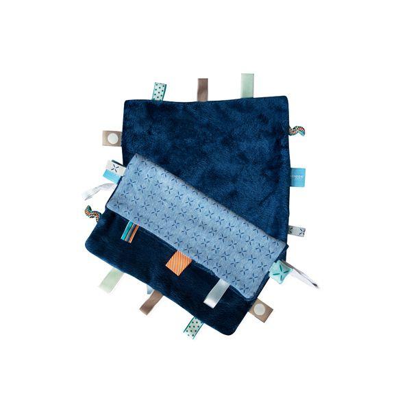 ollobaby瓦吉司 - Snoozebaby - 美夢成真系列安撫巾 -青瓷藍