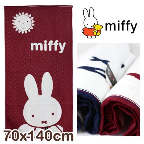 純棉紗布浴巾 十字米飛兔款 miffy