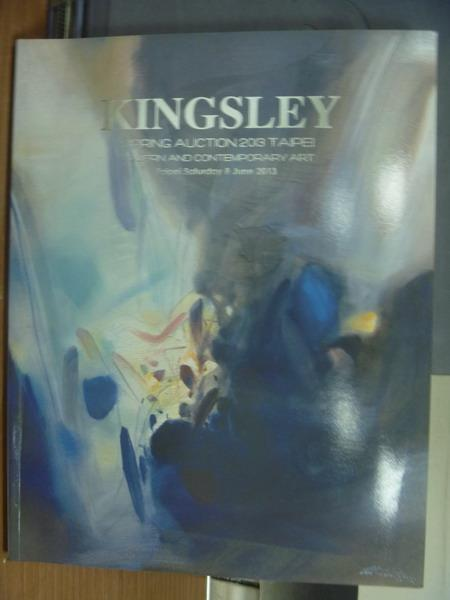 【書寶二手書T1/收藏_PAE】Kingsley_2013/6_Modern amd Contemporary Art