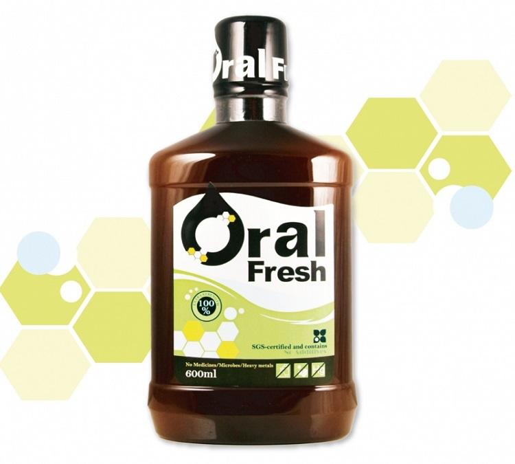 天然保健【Oral Fresh 天然口腔保健液 600ml】【貨號M0033】巴西蜂膠 天然成分 無害口腔 品牌授權