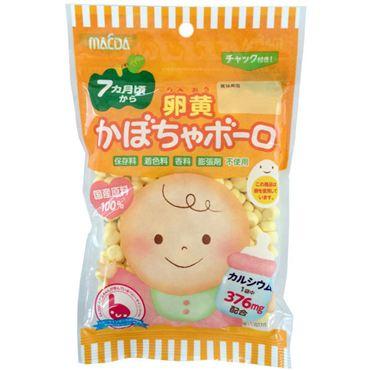大阪前田製果蛋黃南瓜小蛋酥 (75g)  卵黄かぼちゃボーロ