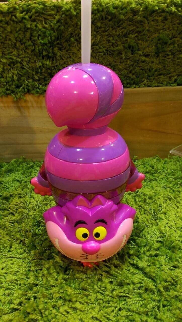 【真愛日本】15090800013樂園限定吸管水壺-妙妙貓  迪士尼專賣店限定  水壺  日本帶回  限定款