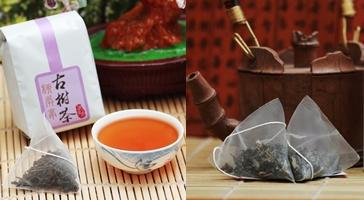 三角立體茶包5入(3包蜜香紅茶,2包綠茶)嚐鮮組