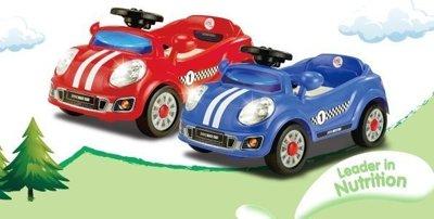 兒童電動跑車 藍色