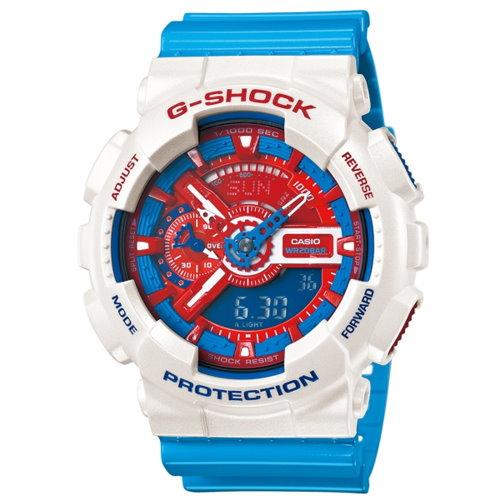 CASIO G-SHOCK/經典超人氣潮流錶/GA-110AC-7ADR