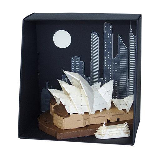 【紙拼圖 paper nano】PN-115 雪梨歌劇院