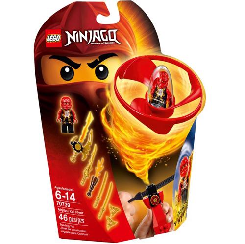 樂高積木LEGO《 LT70739 》2015 年 NINJAGO 旋風忍者系列 - 飛天旋風忍者之旋風鬥-赤地