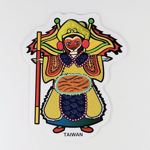 【〒台灣神】台灣旅行明信片。台灣布袋戲 ★GRAPHIC POST CARD★