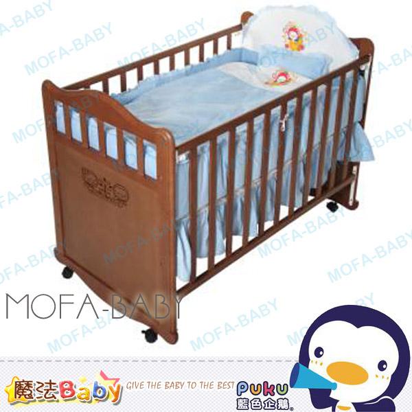魔法Baby~【PUKU品牌】典雅櫸木床~嬰幼兒用品~寢室家具~p30108