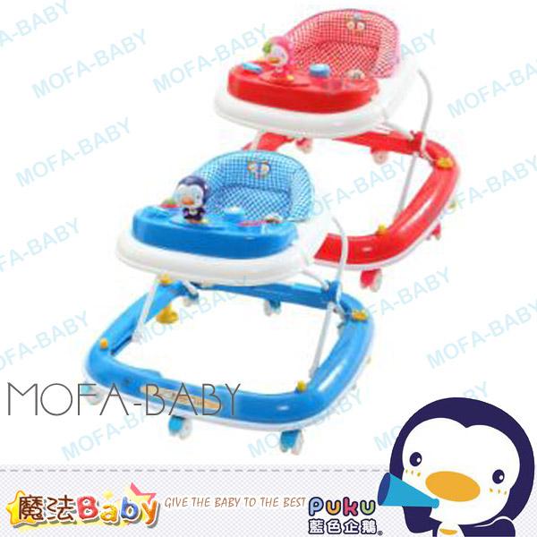 魔法Baby~【PUKU品牌】企鵝玩偶學步車(藍.紅)~嬰幼兒用品~遊戲車用具~p30210