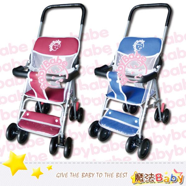 魔法Baby~台灣製造輕便型手推車(紅.藍兩款)~嬰幼兒用品~tb503