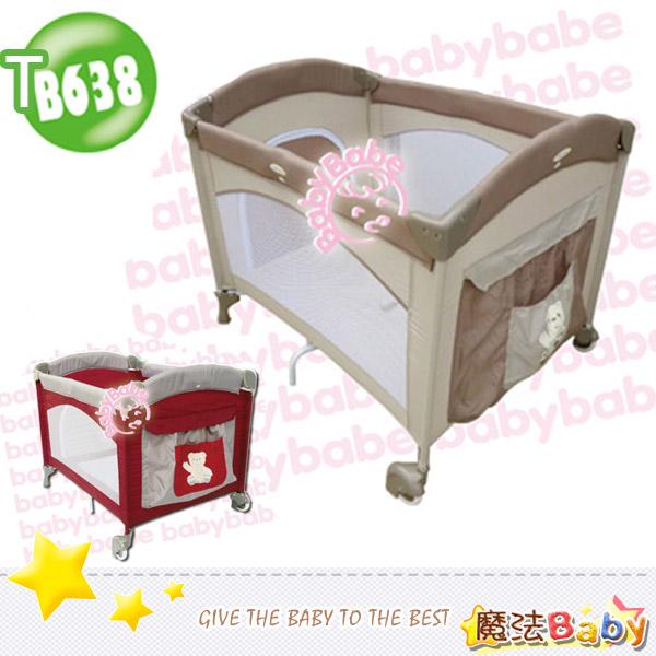 魔法Baby~拱型遊戲床(基本款)_紅.卡其兩色款~嬰幼兒用品~嬰幼兒遊戲床~tb638