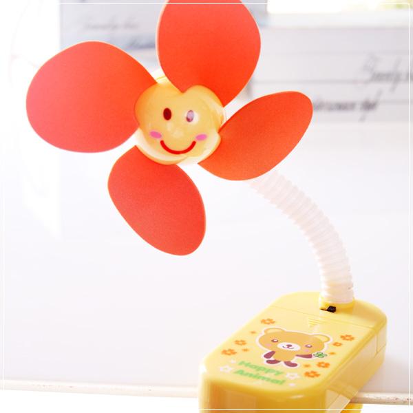 魔法Baby~嬰兒推車用安全夾飾風扇(咖啡熊)~嬰幼兒用品~時尚設計~b20014_c
