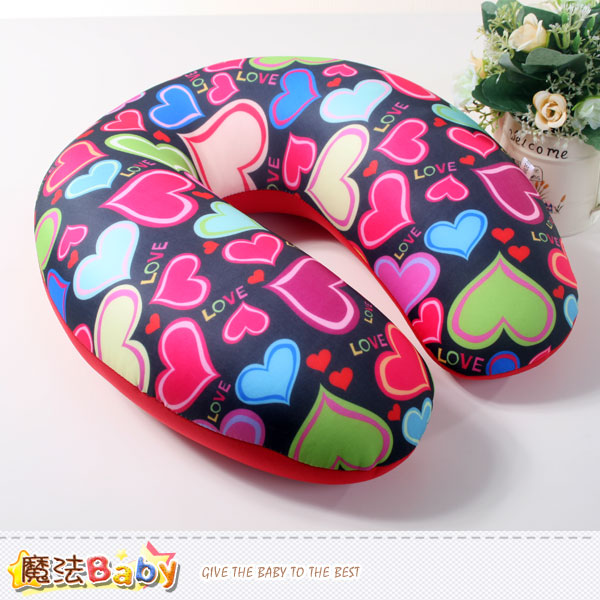 頸枕 U型微顆粒健康舒壓護頸枕 魔法Baby~c0088
