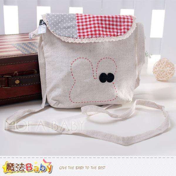 魔法Baby~兔子拼布方型側背包~大人&小孩用品~f0119