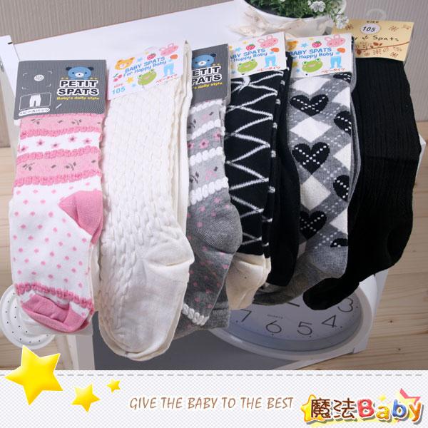 魔法Baby~針織毛線保暖褲襪(款式多、隨機出貨)~女童裝~時尚設計童裝~k05328