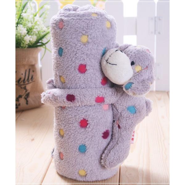 魔法Baby ~嬰幼兒舒柔絨萬用毛毯~抱巾~寢具用品~k18721
