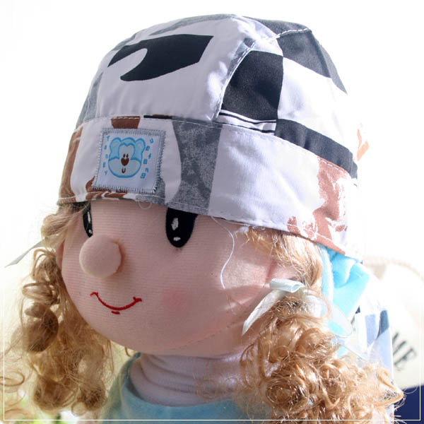 魔法Baby ~新潮海盜帽(灰/黑/咖)~兒童帽~時尚設計童裝~k22698