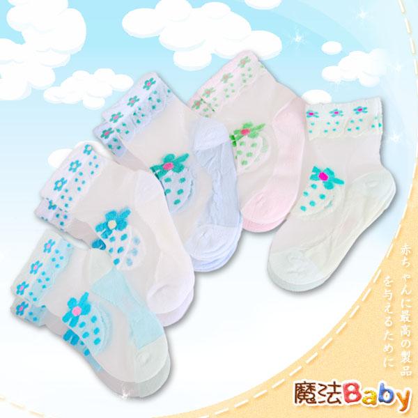 魔法Baby~小女生半透明絲質襪(不挑色、隨機出貨)~嬰幼兒用品~時尚設計~k23404