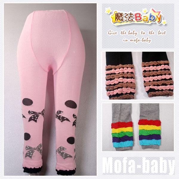魔法Baby~日系針織毛線保暖內搭褲(A.B.C款)~童裝~女童裝~時尚設計童裝~k26665
