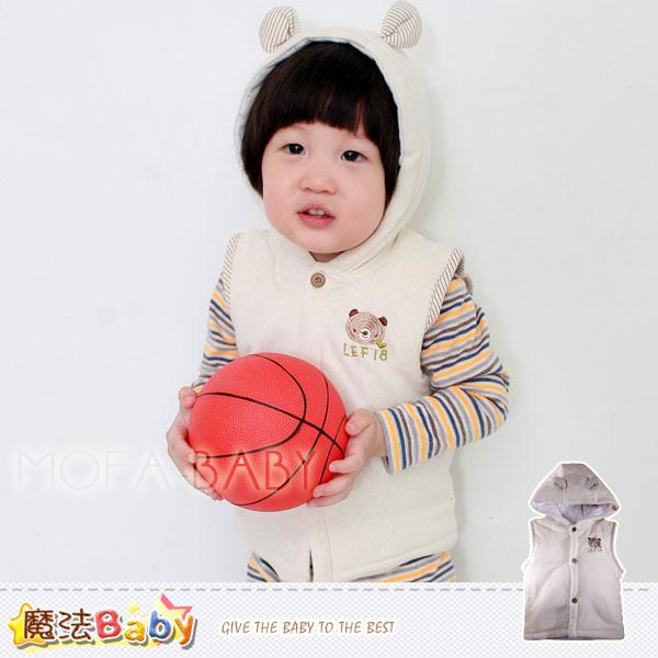 魔法Baby~百貨專櫃正品LE18~厚鋪棉連帽極暖背心外套~男女童裝~k29598