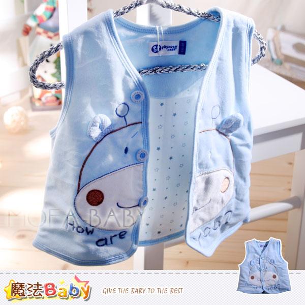 魔法Baby~百貨專櫃正品~細雪絨鋪棉背心外套~男童裝~k30426