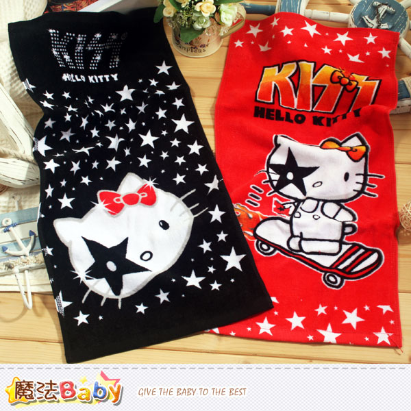 Hello Kitty童巾(2條一組) 魔法Baby~k39184