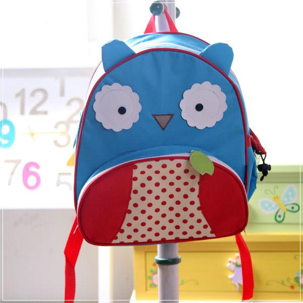 魔法Baby ~ Q版造型兒童背包~雙肩後背包~貓頭鷹~c0043