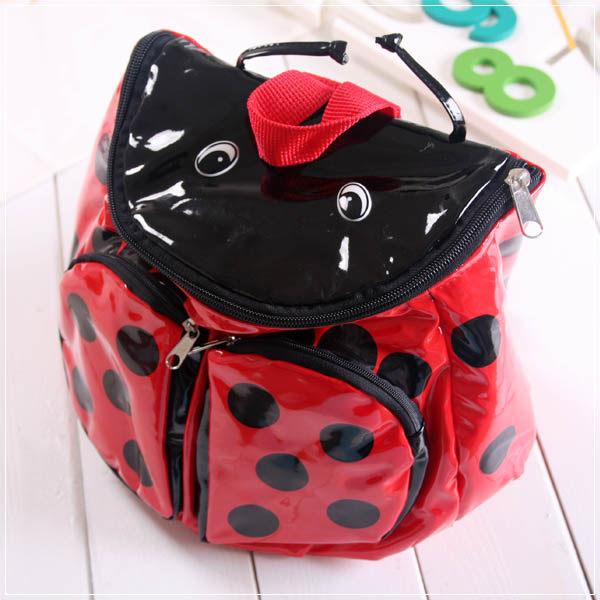 魔法Baby ~ Q版造型兒童背包~雙肩後背包~瓢蟲~c0050