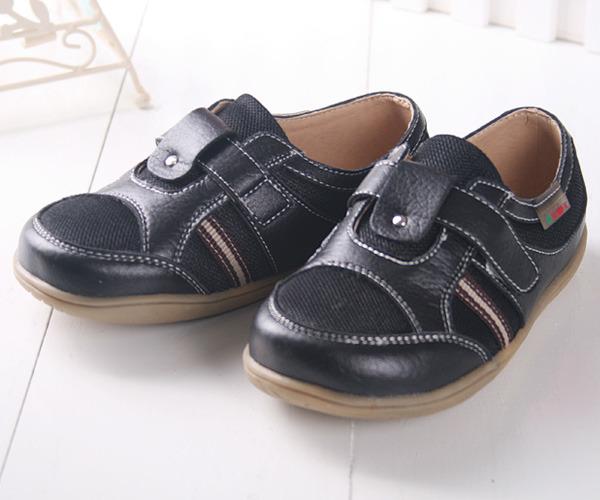★ 魔法Baby ★KUKI 酷奇帥氣小紳士柔舒休閒鞋☆男童鞋☆s1371