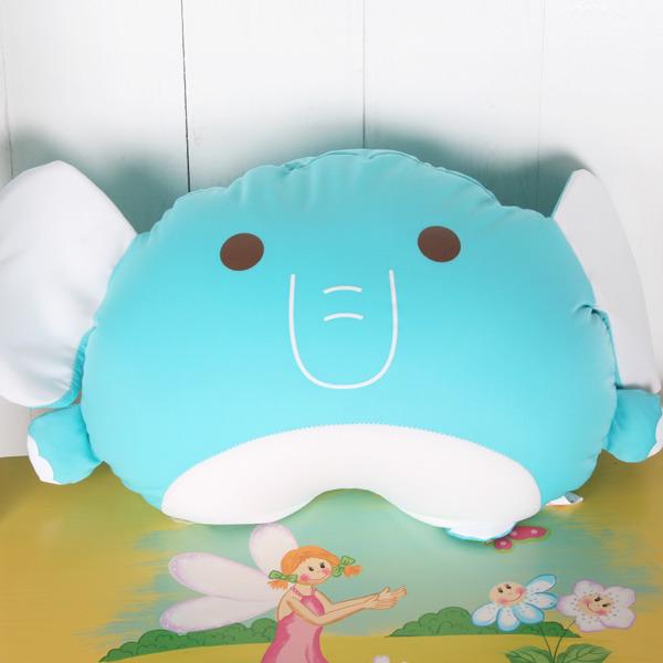 ★ 魔法Baby ★【超卡哇伊藍大象舒適午安枕/靠枕/抱枕☆k03645】