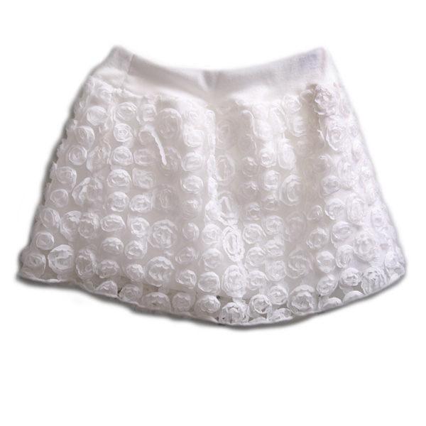 魔法Baby ~玫瑰花紗短裙~童裝~女童裝~時尚設計童裝~k19346