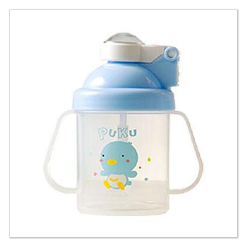 ★ 魔法Baby ★【PUKU藍色企鵝彈跳練習杯180C.C.☆哺育用品☆p14700】