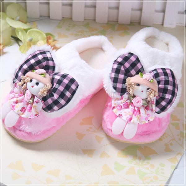 魔法Baby ~暖呼呼毛絨絨兒童室內鞋~居家用品~s5171