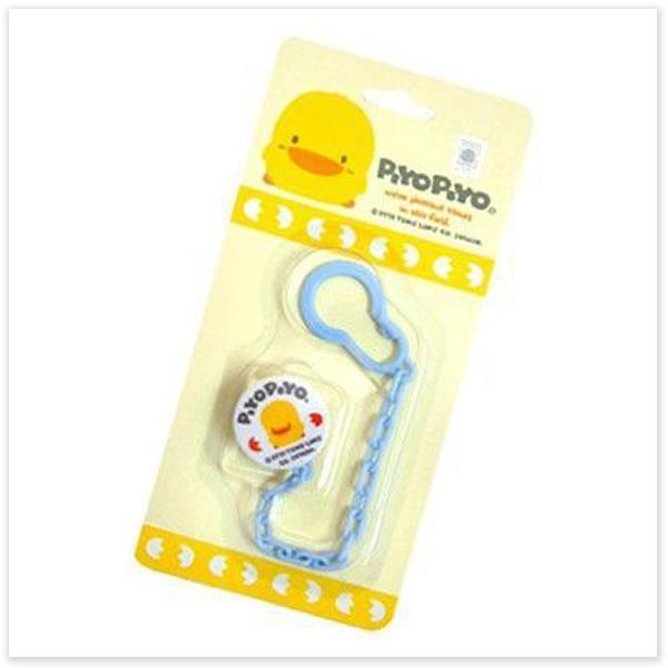 ★ 魔法Baby ★【黃色小鴨奶嘴鍊☆離乳用品☆y83021】