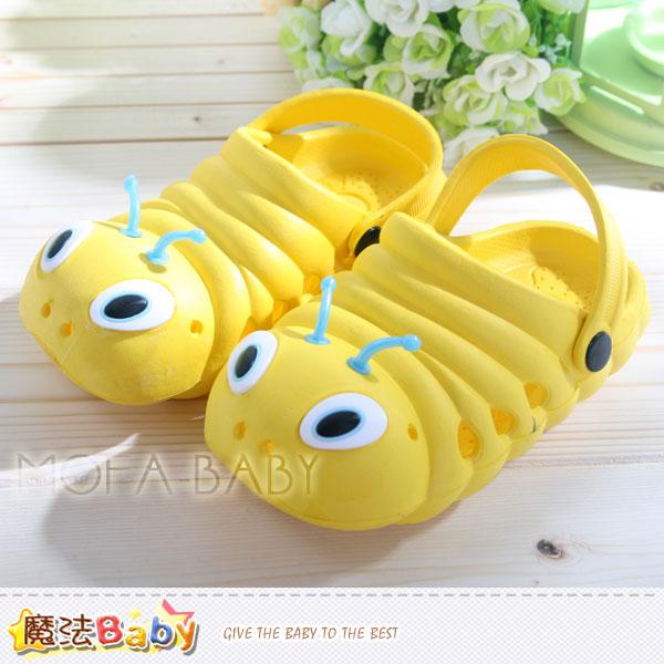 魔法Baby~超Q毛毛蟲造型水陸輕便鞋(黃18~23)~男女童鞋~s5997