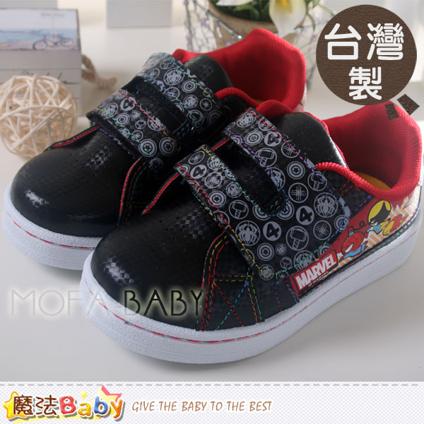 【魔法Baby】台灣製造MARVEL抗菌防臭運動鞋~男童鞋~sa39150