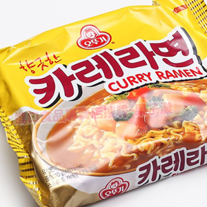韓國不倒翁 百歲咖哩拉麵 泡麵 (單包)[KR041]