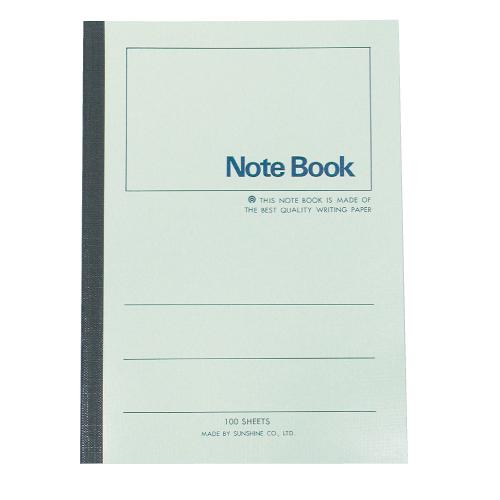 【加新】3PF18060 18K 60P 綠色平裝筆記本/橫線筆記本 (10本/包)