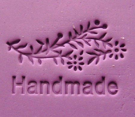 心動小羊^^藝術花花草草手工皂DIY材料 工具 手工皂皂章 皂印 皂章 圖案章壓克力